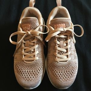APL Shoes - APL Techloom Pro Rose Gold Melange Sneaker